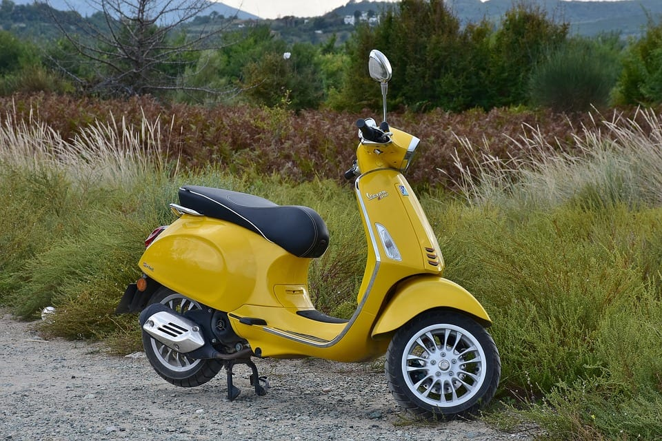 2nd hand scooty