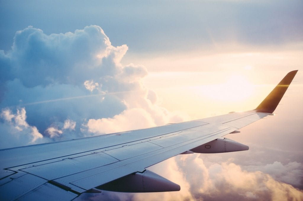 benefits of travelling by plane