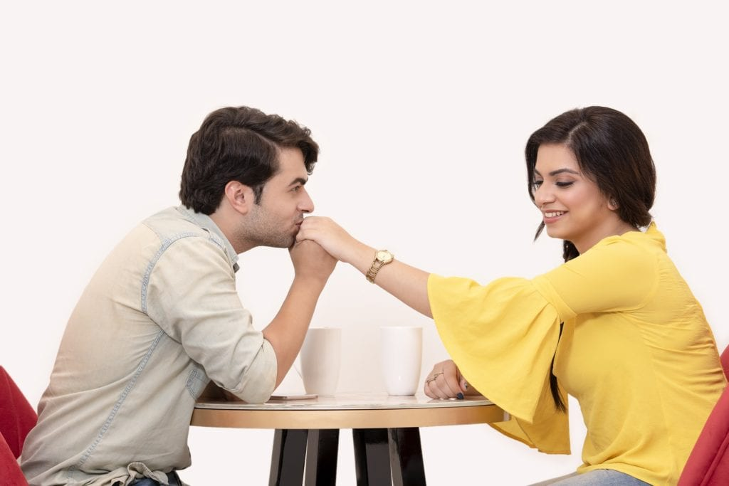 how to make a boy fall in love with you without talking to him