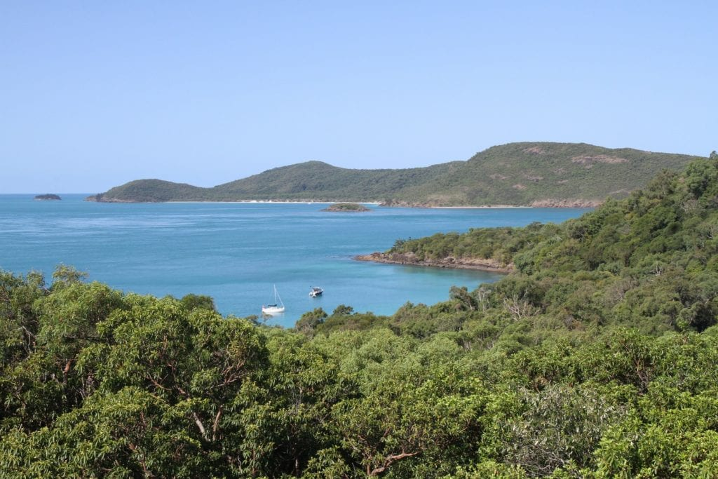 The Great Barrier Reef and the Whitehaven Beach