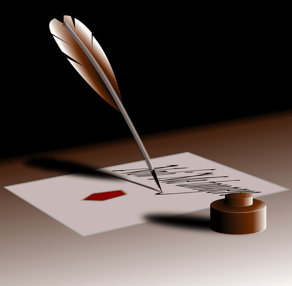 While writing the letter, make sure it is not too heavy