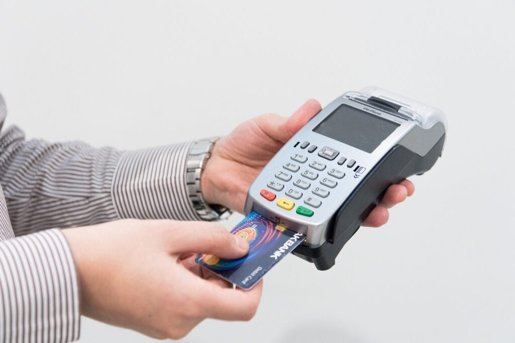 Can't pay in cash