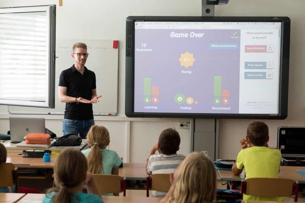 It makes classroom teaching more interesting