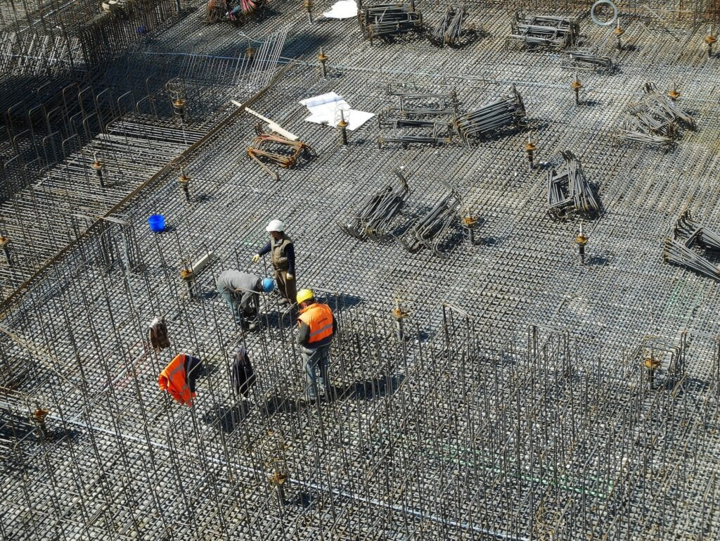 People working in the filed of construction sites