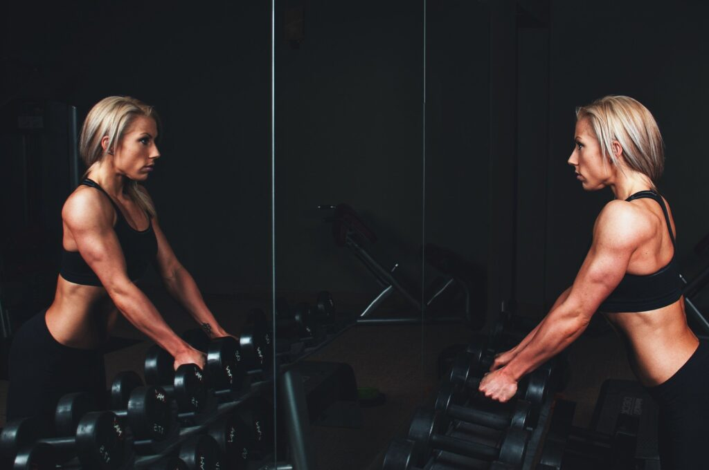 Squad, pull-ups, and muscle exercise