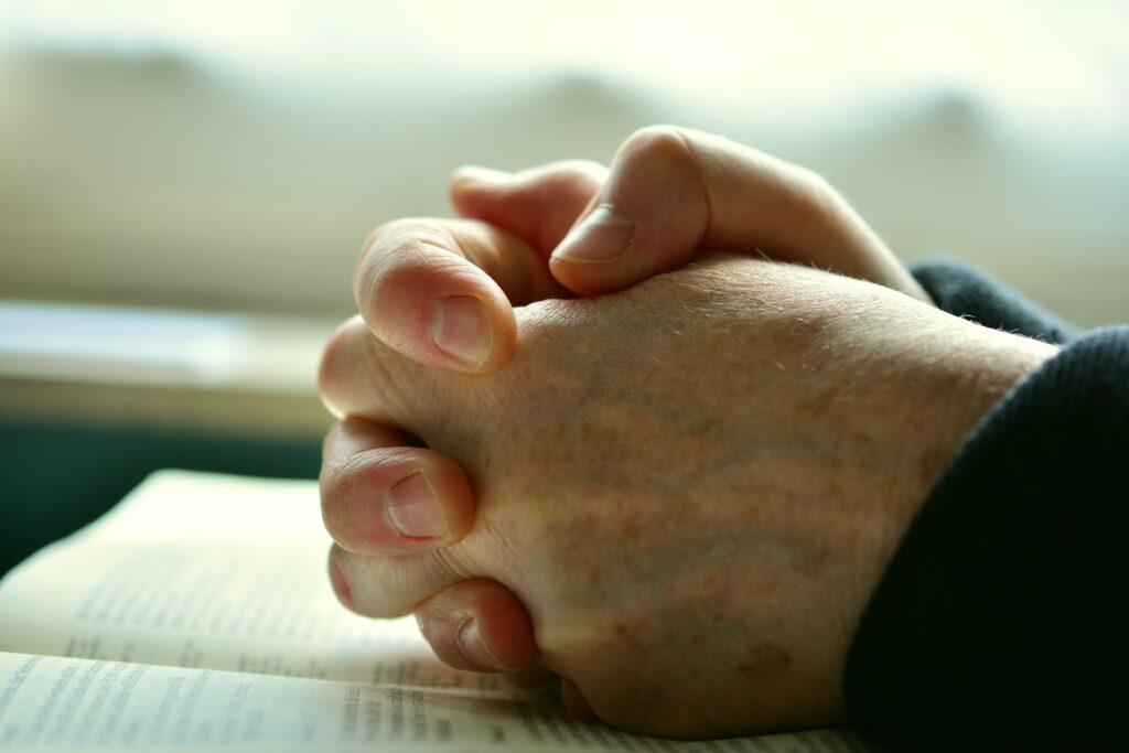 Prayer gives us hope