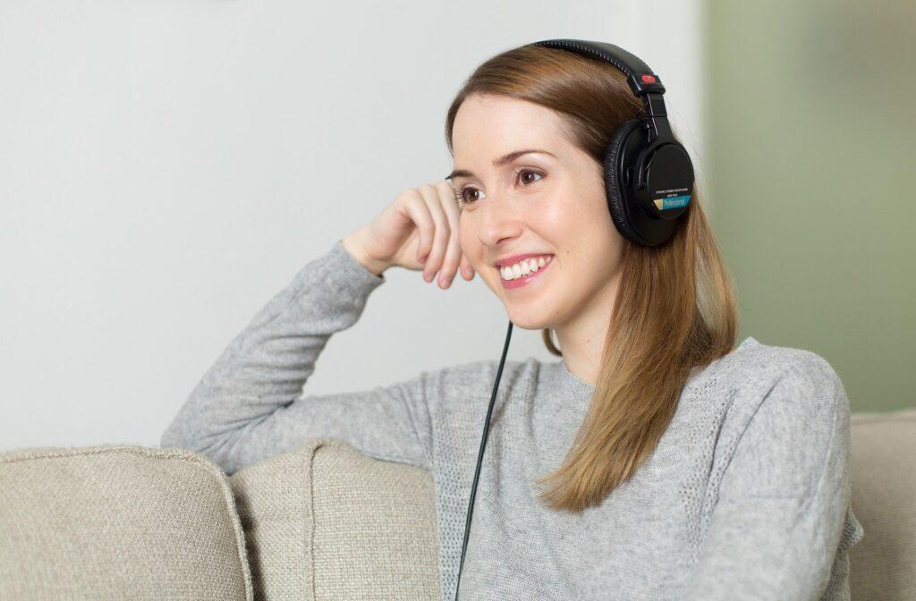 Listen to relaxing music