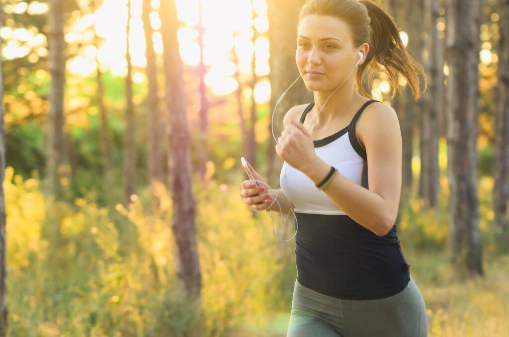Running and other physical exercises