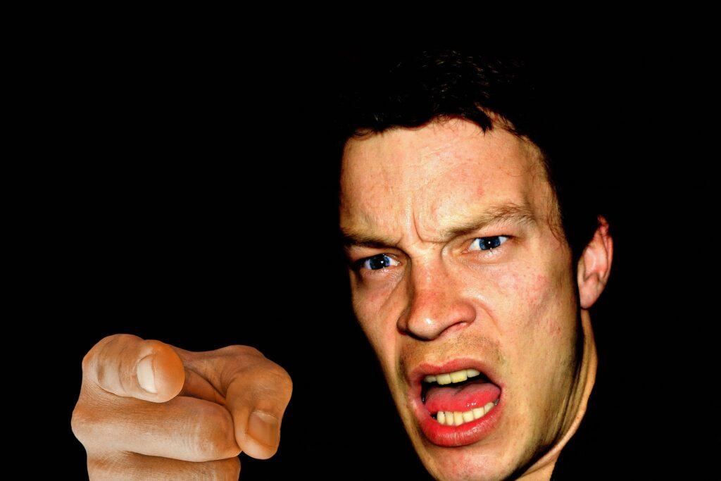 Feeling of Anger