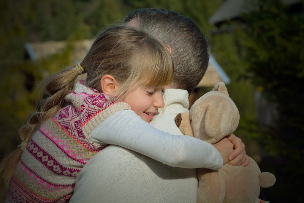 Be emotionally connected to your child